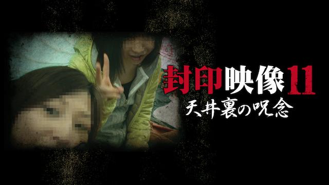 封印映像 11 天井裏の呪念の動画 - 封印映像 41 田中