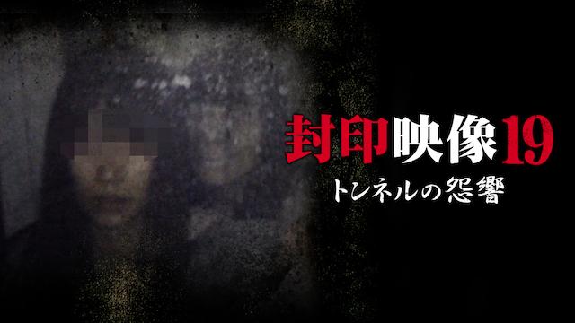 封印映像 19 トンネルの怨響の動画 - 封印映像28 幽霊アプリ