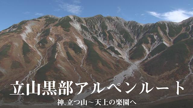 立山黒部アルペンルート 神、立つ山 ~ 天上の楽園への動画 - 上野動物園の世界(全国流通版)
