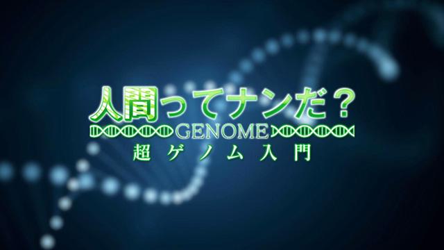 人間ってナンだ?超ゲノム入門