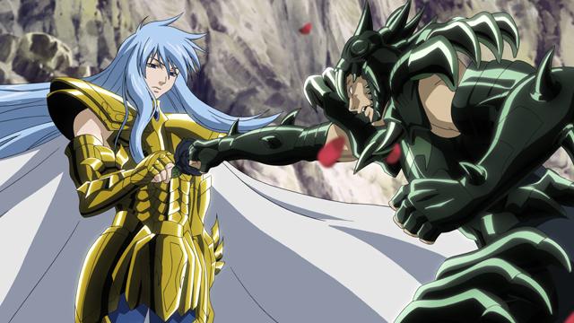 聖闘士星矢 THE LOST CANVAS 冥王神話 第5話 毒薔薇