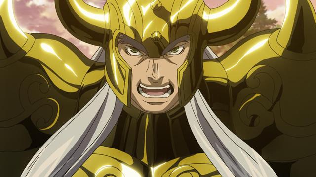 聖闘士星矢 THE LOST CANVAS 冥王神話 第9話 巨星