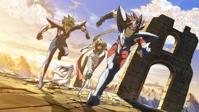 聖闘士星矢 THE LOST CANVAS 冥王神話 第13話 旅立ち