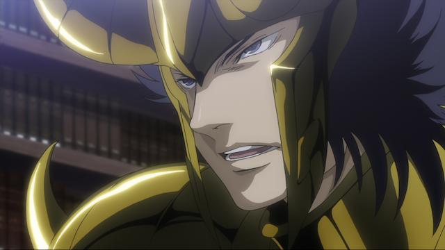 聖闘士星矢 THE LOST CANVAS 冥王神話 第19話 孤高の剣