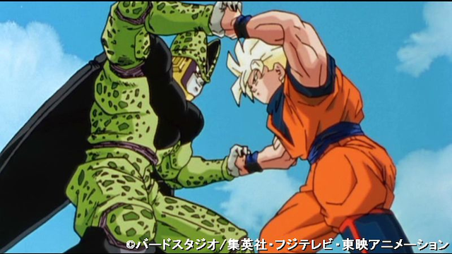 ドラゴンボール改 第88話 決戦! セル対孫悟空