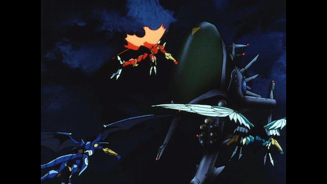魔法騎士レイアース 第24話 魔法騎士と戦艦NSX