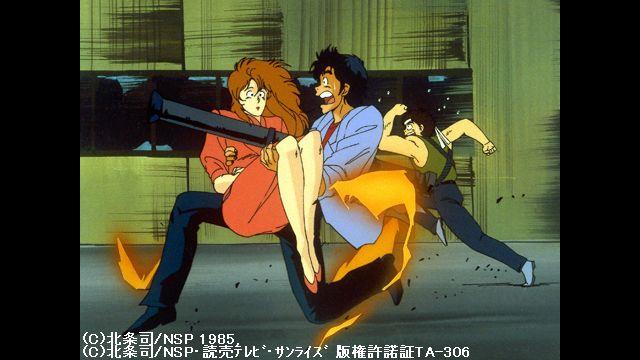 シティーハンター 第6話 恋しない女優 希望へのラストショット