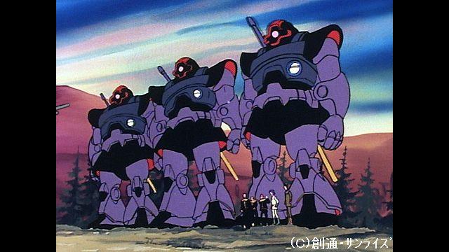 機動戦士ガンダム 第24話 迫撃!トリプル・ドム