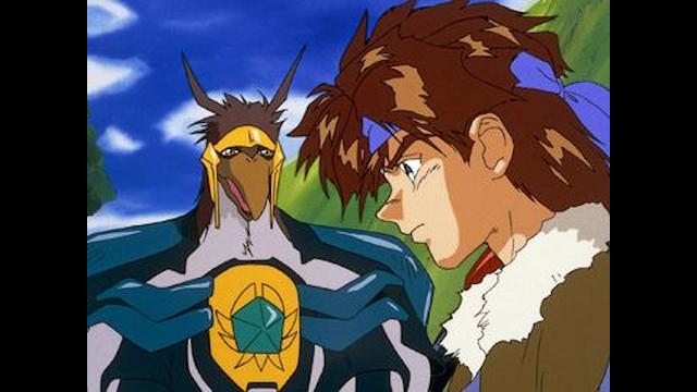 獣戦士ガルキーバ 第2話 伝説という名の炎