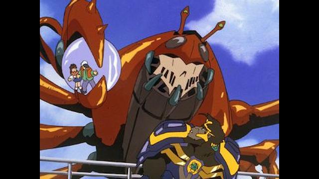 獣戦士ガルキーバ 第8話 まほろばの凶戦士