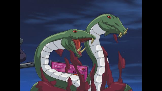 遊戯王デュエルモンスターズGX #118 恐怖!毒蛇王ヴェノミノン