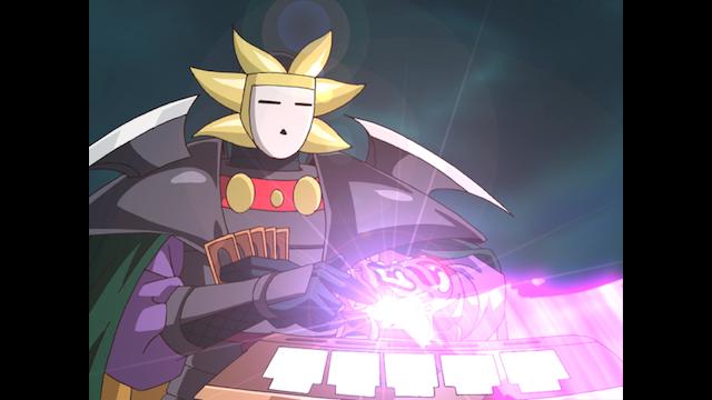 遊戯王デュエルモンスターズGX #125 ヨハン・ジム・オブライエンVS仮面の三騎士