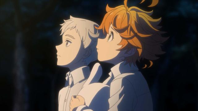 約束のネバーランド(TVアニメ第1期)地上波の再放送地域!2021年1月!