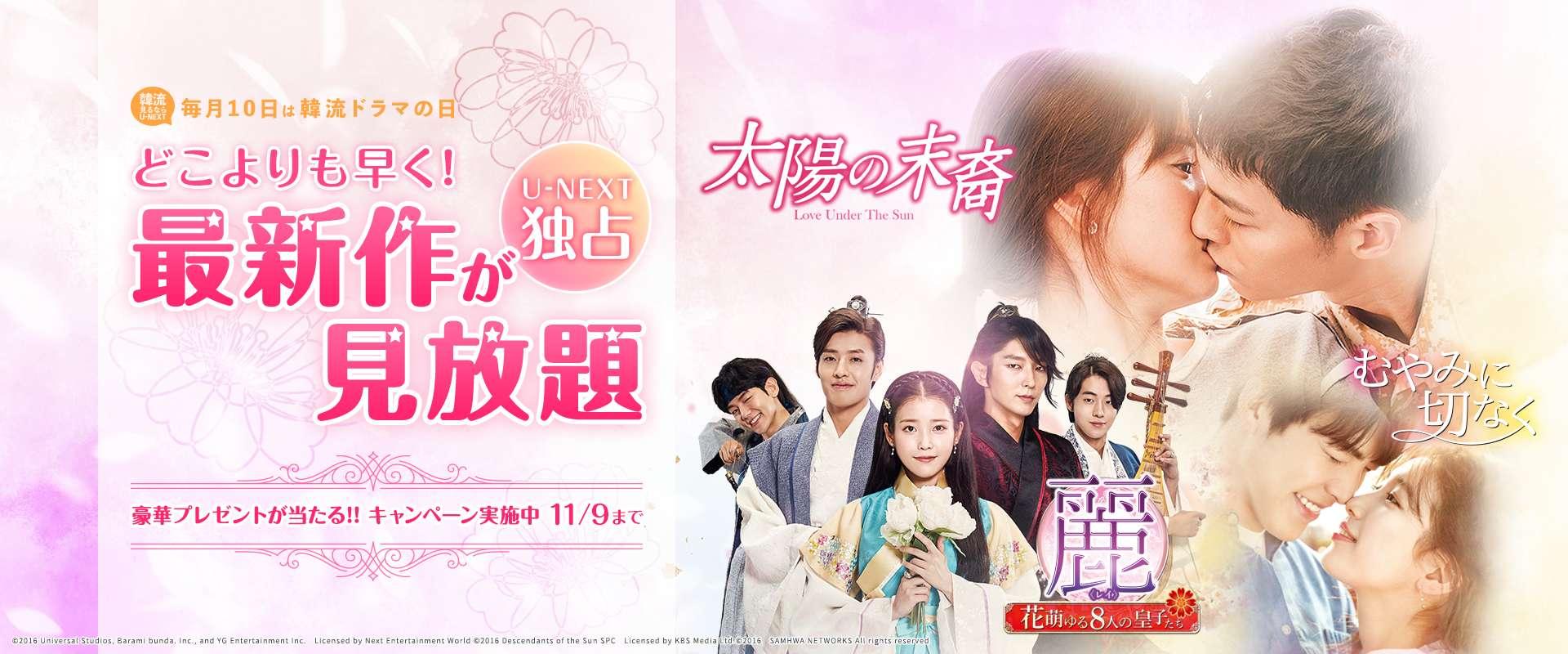 U-NEXTに登録して韓国ドラマを一気見する!