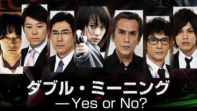 アンフェアSP ダブル・ミーニング Yes or No