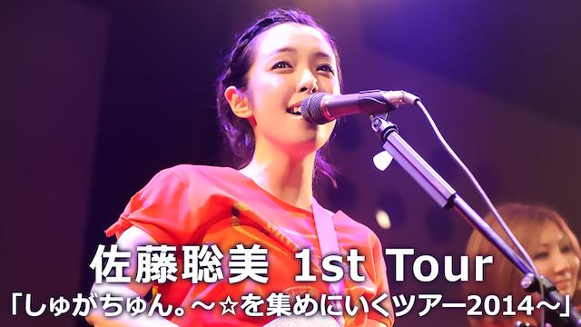 佐藤聡美1st Tour 「しゅがちゅん。~☆を集めにいくツアー2014~」