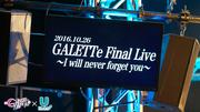GALETTe Final Live