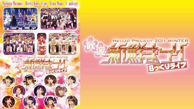 Hello! Project 2011 WINTER~歓迎新鮮まつり~ Bっくりライブ