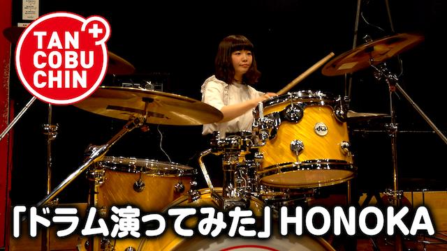 たんこぶちん「ドラム演ってみた」/HONOKA