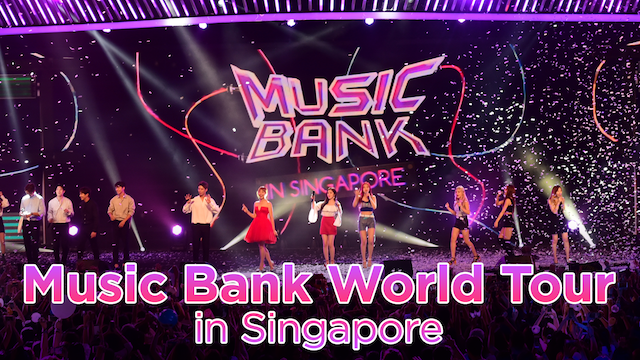 Music Bank World Tour in Singapore