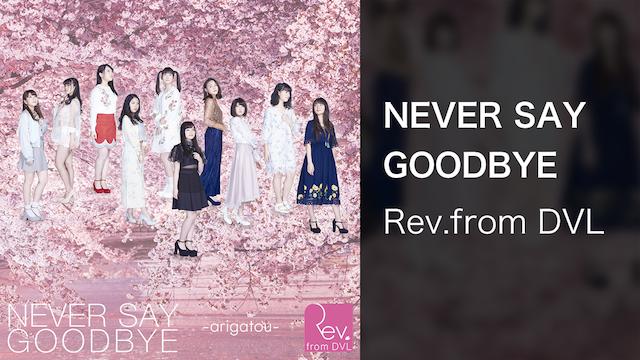 【MV】NEVER SAY GOODBYE / Rev.from DVL