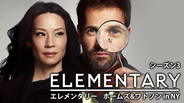 ELEMENTARY/エレメンタリー ホームズ&ワトソン in NY シーズン3