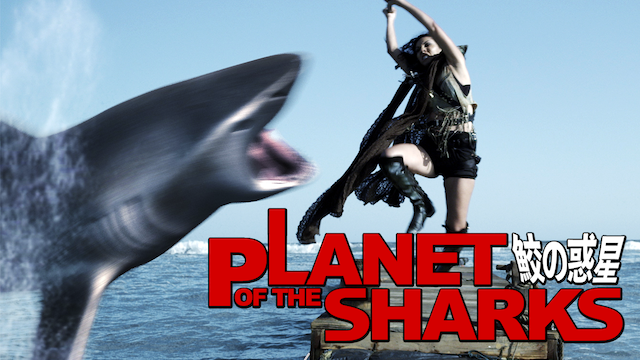 PLANET OF THE SHARKS 鮫の惑星の画像