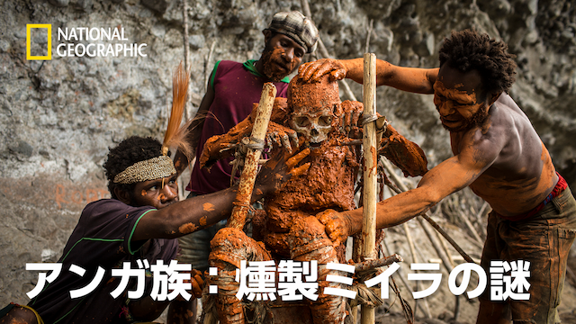 アンガ族:燻製ミイラの謎