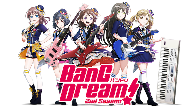 BanG Dream! 2nd Season #10 R·I·O·Tの画像