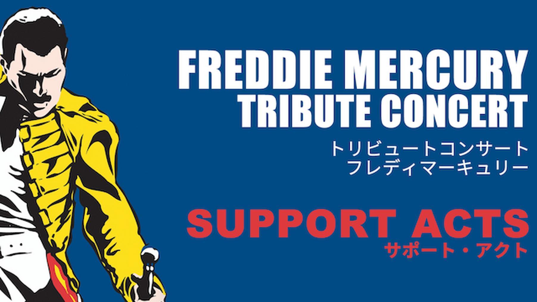 フレディ・マーキュリー・トリビュート・コンサート-サポート・アクト