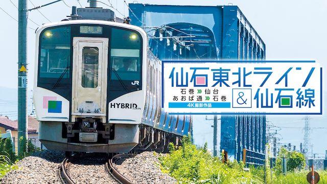 仙石東北ライン&仙石線 4K撮影