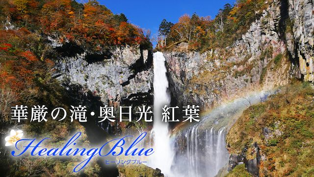 【HealingBlueヒーリングブルー】華厳の滝・奥日光 紅葉