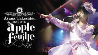 竹達彩奈 BEST LIVE「apple feuille」