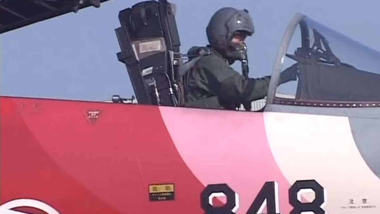 航空自衛隊創立50周年記念塗装機「百里基地」