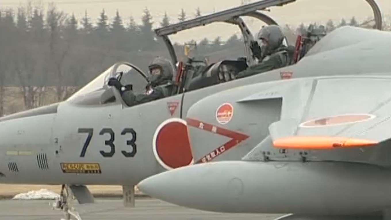 航空自衛隊創立50周年記念塗装機「入間基地」