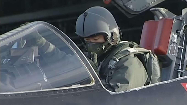 航空自衛隊創立50周年記念塗装機「岐阜基地」