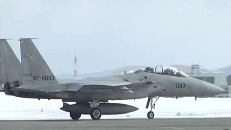 航空自衛隊創立50周年記念塗装機「千歳基地」