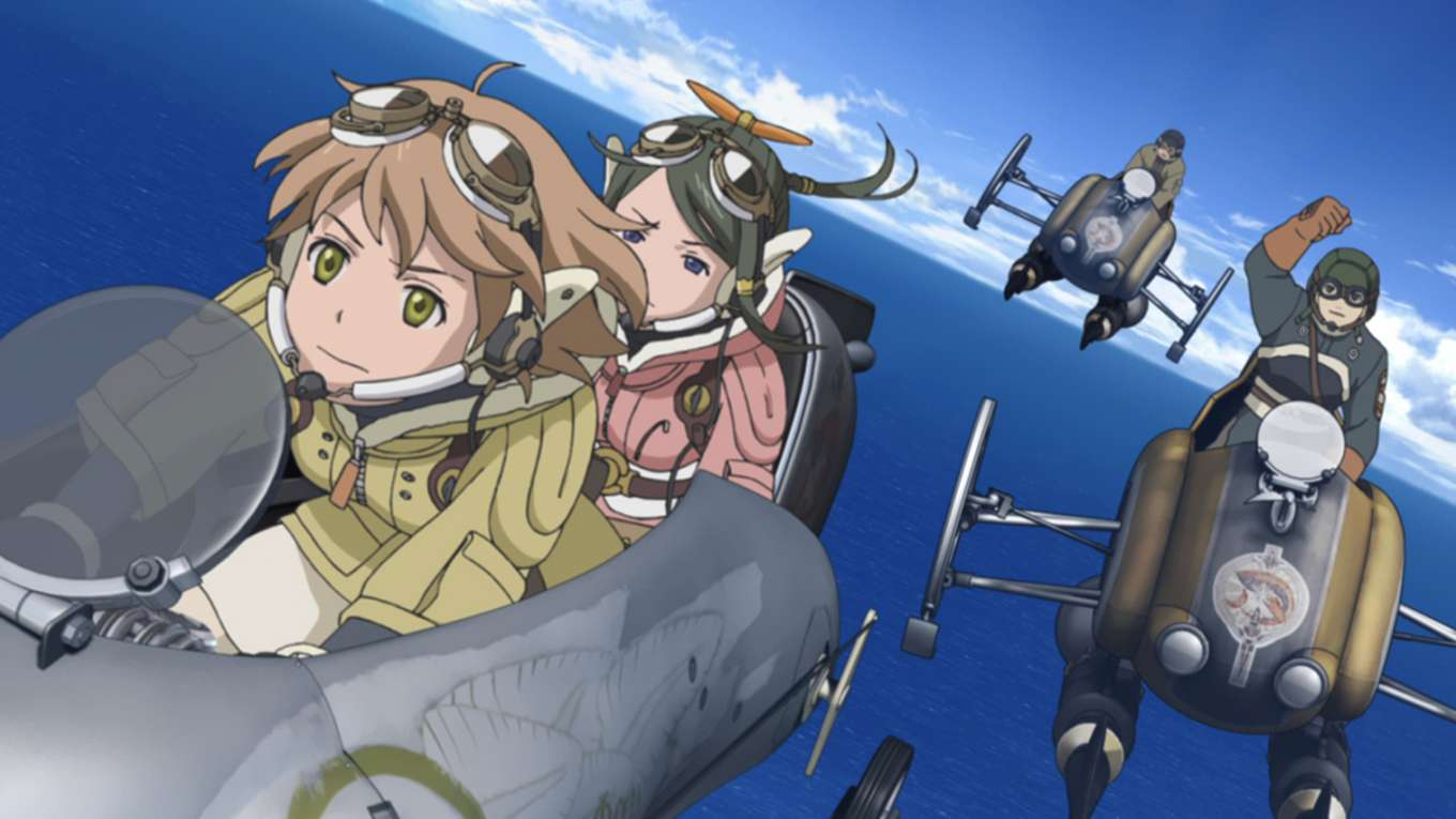 LAST EXILE -銀翼のファム- Over The Wishes