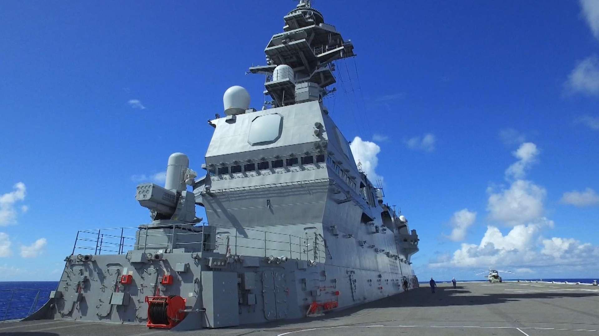 ヘリコプター搭載護衛艦 DDHいずも 最新最大の護衛艦