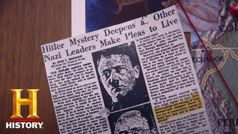 ヒトラーを追跡せよ!~ナチス最高幹部と秘密計画~
