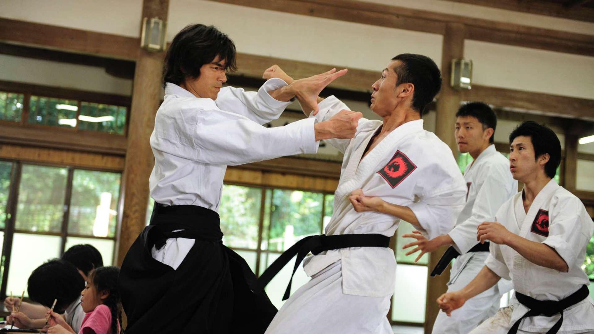 柔術 JU-JITU  ~「柔術」VS「空手」!!~