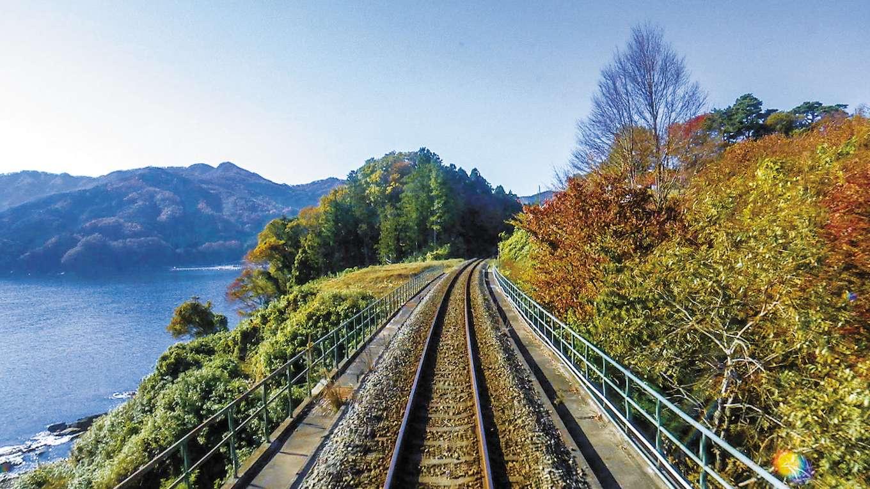 秋の三陸鉄道 全線往復