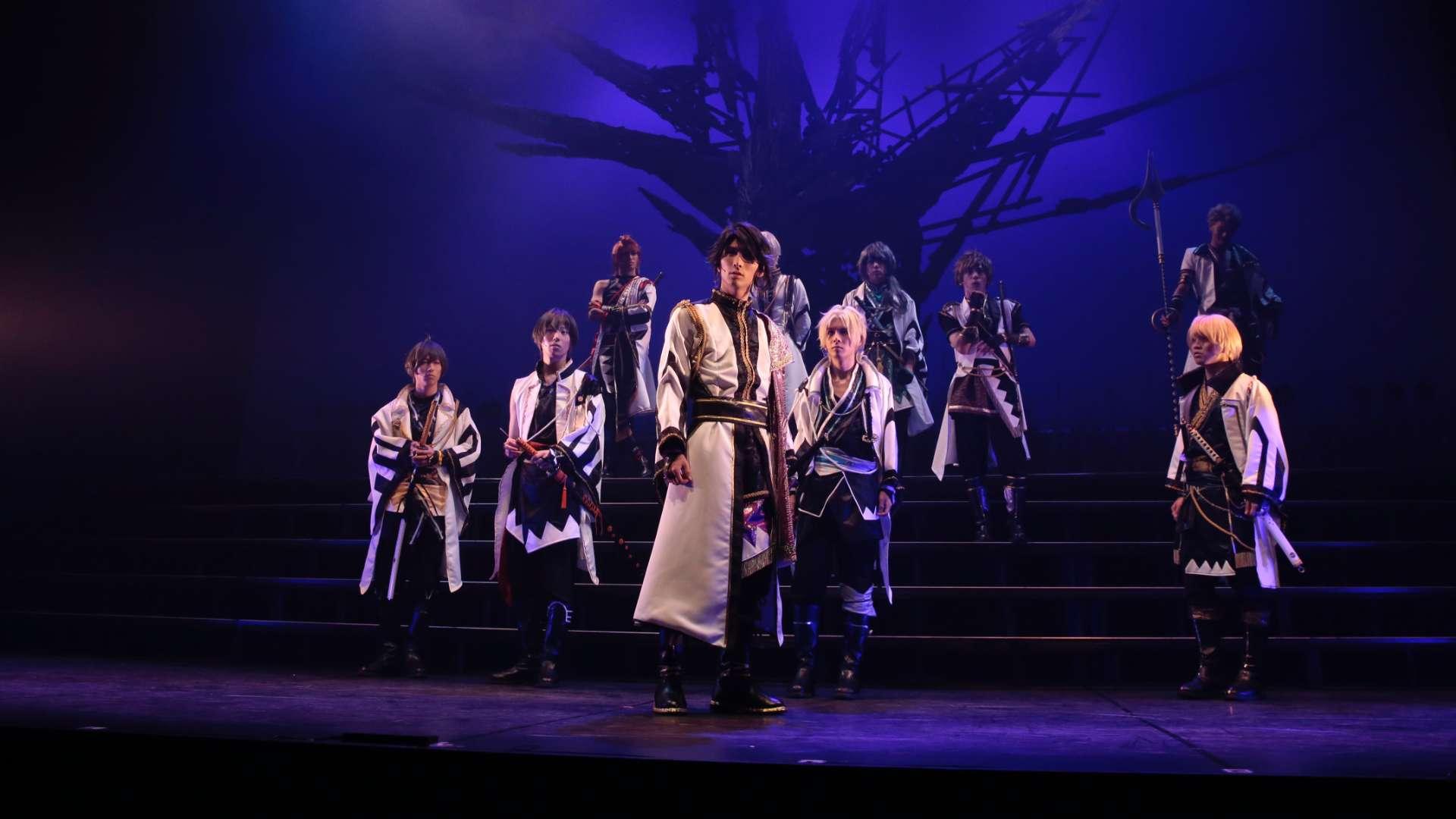 2.5 次元ダンスライブ「ツキウタ。」ステージ 第二幕 ~月歌奇譚「夢見草」~桜の章
