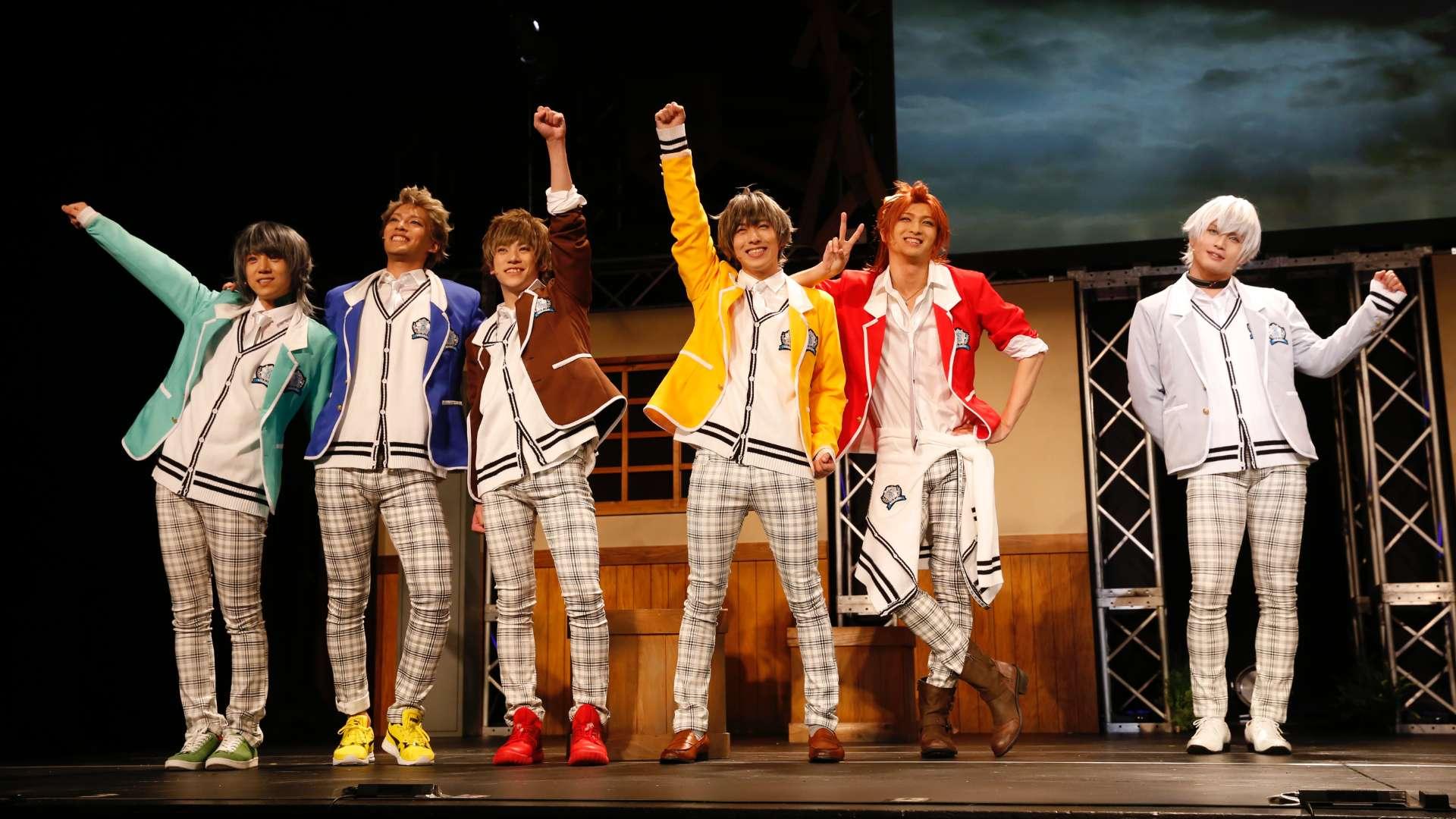 2.5次元ダンスライブ『ツキウタ。』ステージ TRI!『SCHOOL REVOLUTION!』ver.WHITE