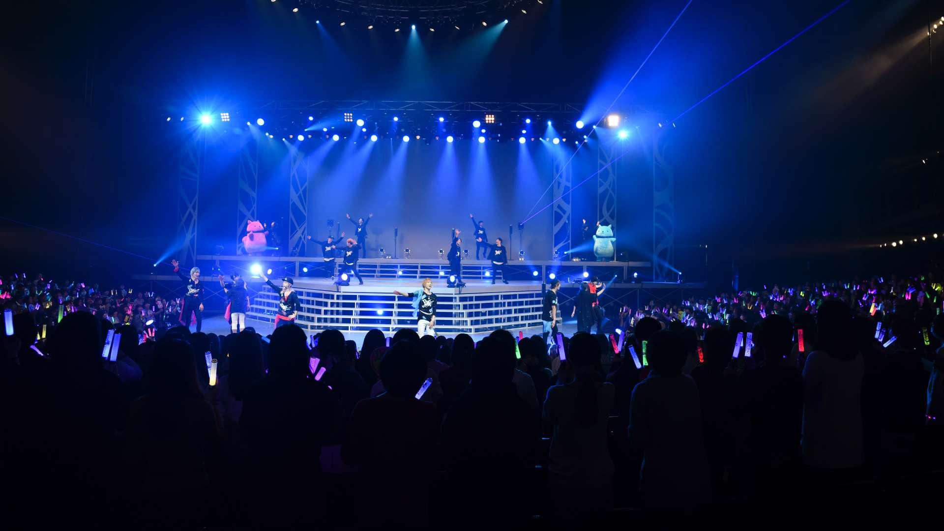 2.5次元ダンスライブ「SQ」ステージ BLAZING & FREEZING 昼公演