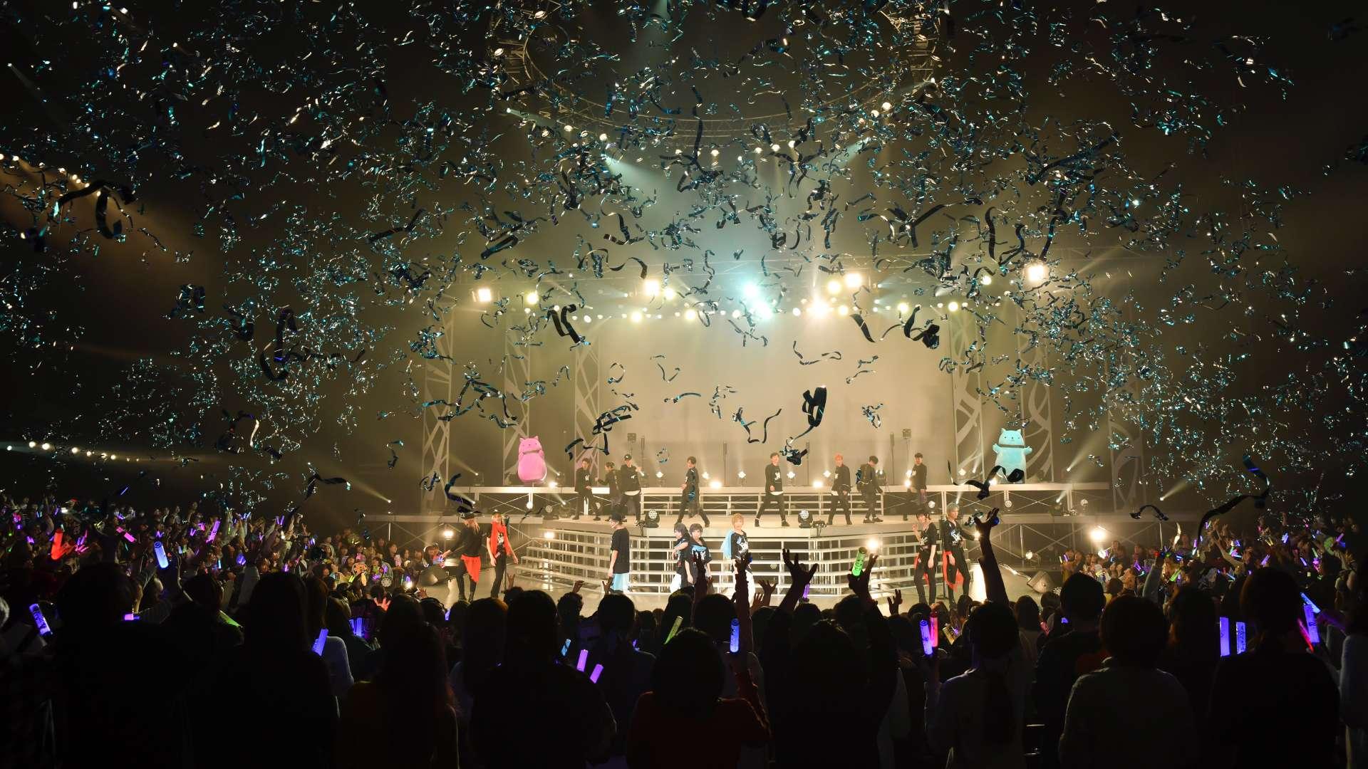 2.5次元ダンスライブ「SQ」ステージ BLAZING & FREEZING 夜公演
