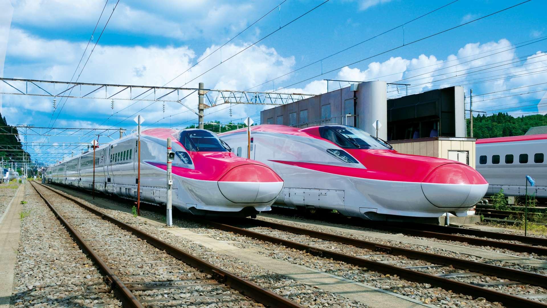 次世代新幹線 はやぶさ&こまち&あさま