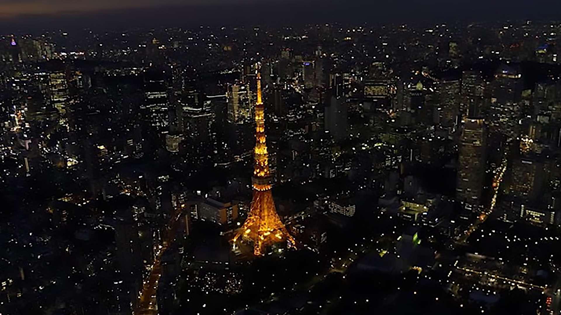 TOKYO NIGHT CRUISING ~東京夜景空撮~