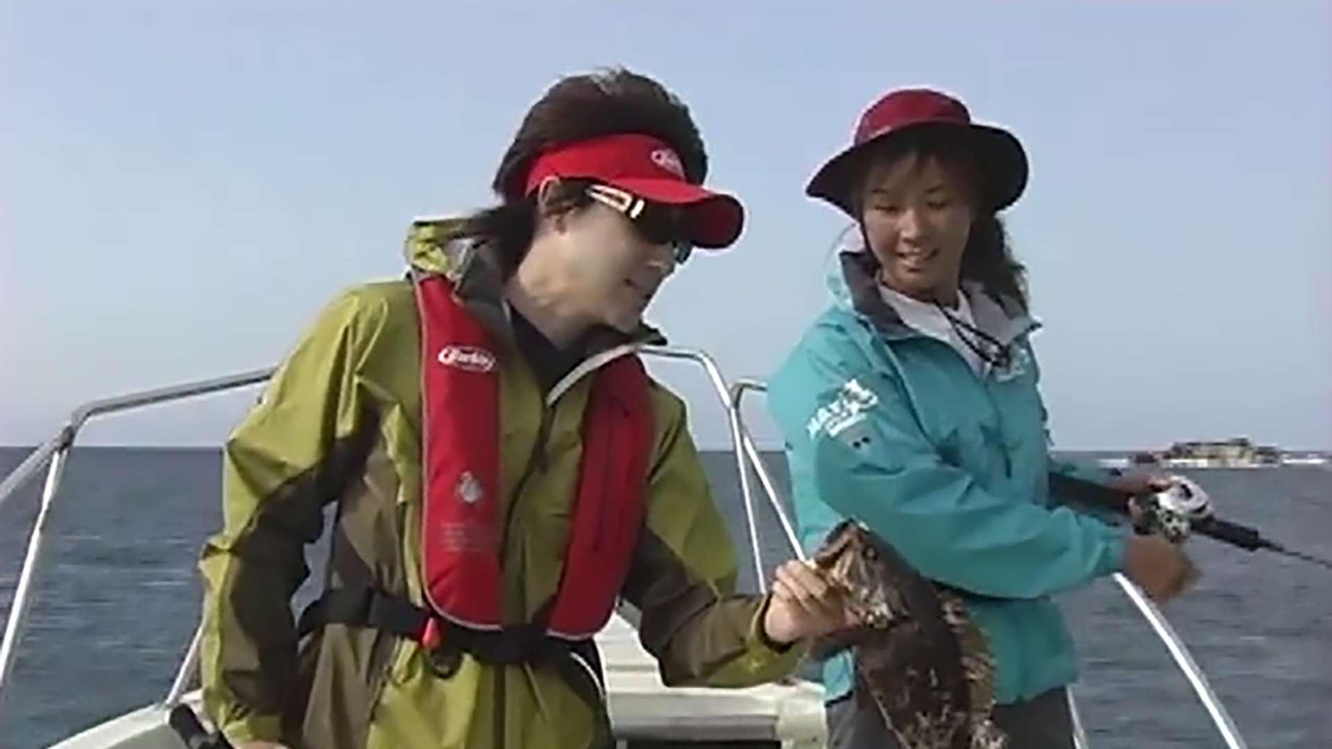 日本100魚種制覇の旅 児島玲子 in石巻(宮城県)