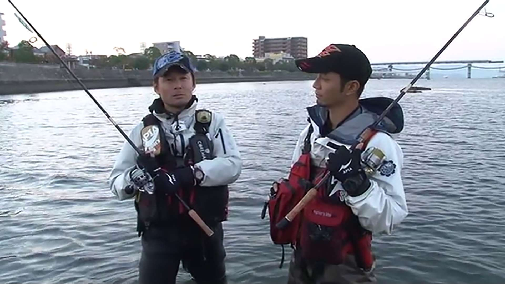 80cmオーバーWキャッチ! in広島市内河川